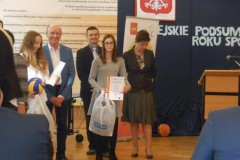 """30.09.2015 - Uroczystość wręczenia nagrody dla """"Najlepszego ucznia-sportowca"""""""