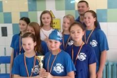 06.11.2014 - Sztafety pływackie szkół podstawowych
