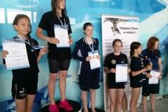 Mistrzostwa województwa łódzkiego w pływaniu dla uczniów 12 i 13 letnich
